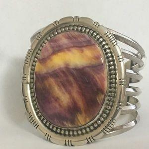 Sterling Silver Spiny Oyster Bracelet